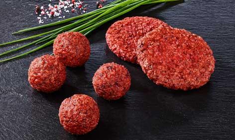 Carpisa: hamburguesas y albóndigas veganas