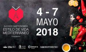 Cartel de Alicante Gastronómica