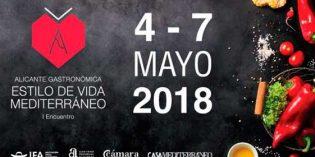 Alicante Gastronómica, I Encuentro del Estilo de Vida Mediterráneo