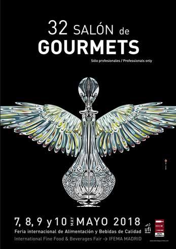 Cartel del 32 Salón de Gourmets