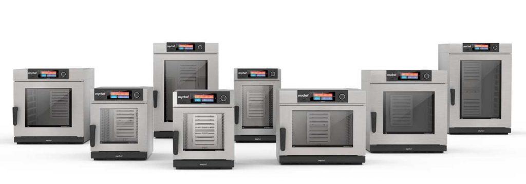 La gama de hornos mychef evolution