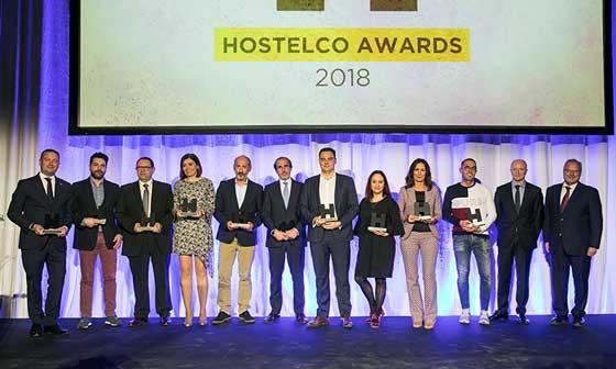 Todos los premiados en los Hostelco Awards 2018