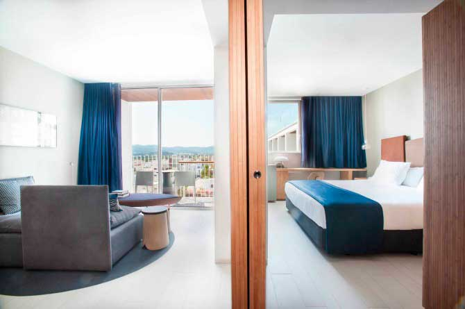 Junior suite del hotel OD Talamanca