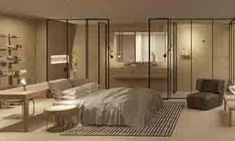 la habitación del hotel vacacional que se recreará en Hostelco 2018