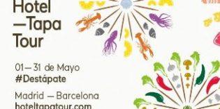 Vuelve Hotel Tapa Tour, el festival de alta cocina en miniatura en hoteles gourmet