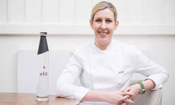 La chef norirlandesa Clare Smyth