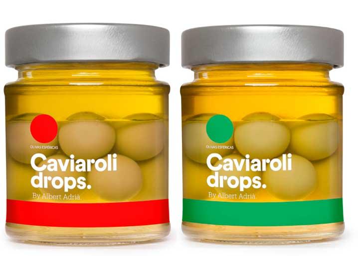 Caviaroli Drops by Albert Adrià
