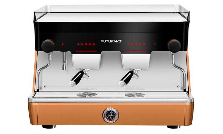 La nueva máquina de café Futurmat está disponible en dos y tres grupos