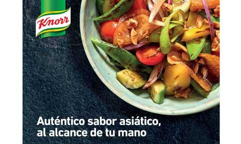 Recetario asiático Knorr