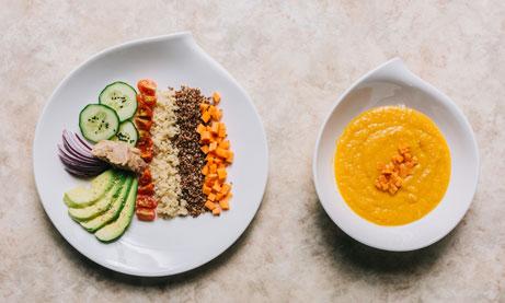 El menú Qui Salad de OliviasBox