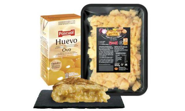 Pascual lanza su Preparado para Tortilla de Patata para el canal horeca