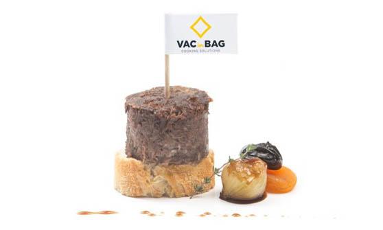 Tapa Rulo de VACinBAG: la solución para elaborar pinchos de carnes confitadas