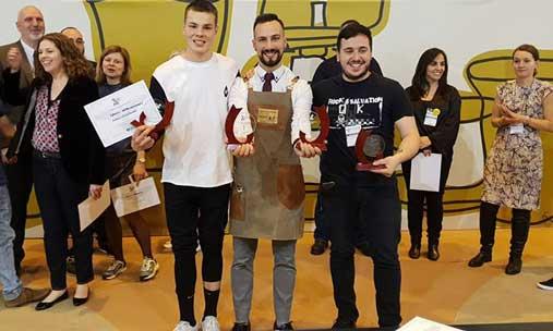 Los ganadores del V Spain Coffee Festival, celebrado en el Salón de Gourmets