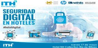 Jornada sobre Seguridad Digital en Hoteles del ITH en Bilbao