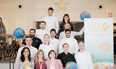 Los chefs que participan en esta edición de Cook&Travel