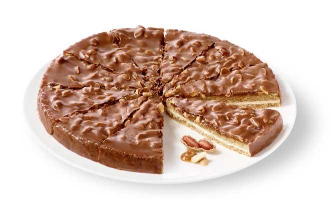 La Tarta de almendras, cacahuetes y caramelo de Erlenbacher