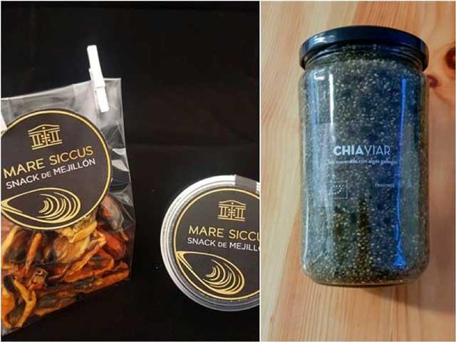 Snack de mejillón y caviar de chía, finalistas en Innovación