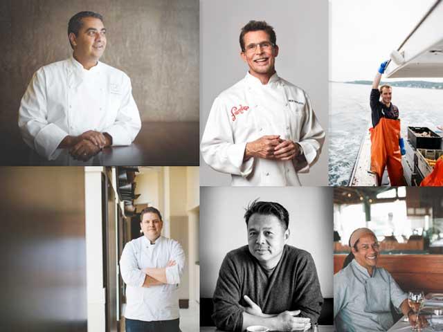 Chefs participantes en la World Culinary Showcase de la feria NRA Show 2018