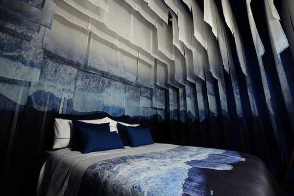 habitación diseñada por Carmela Martí en el espacio Live Hotel de Hostelco 2018