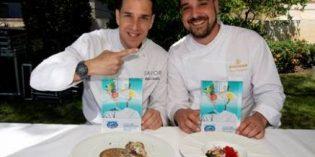 Los chefs Ignacio Torrejimeno y Pablo Castillo, ganadores de los I Premios Costa del Sol All Stars