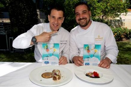 Pablo Castillo y Nacho Torrejimeno, ganadores del I Concurso Costa del Sol All Stars