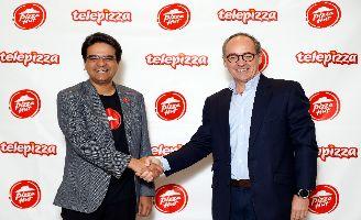 A la izquierda: Milind Pant, presidente de Pizza Hut International. A la derecha, Pablo Juantegui, presidente ejecutivo y CEO de Grupo Telepizza