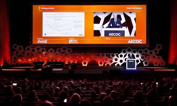 Inauguración del congreso horeca de Aecoc 2018