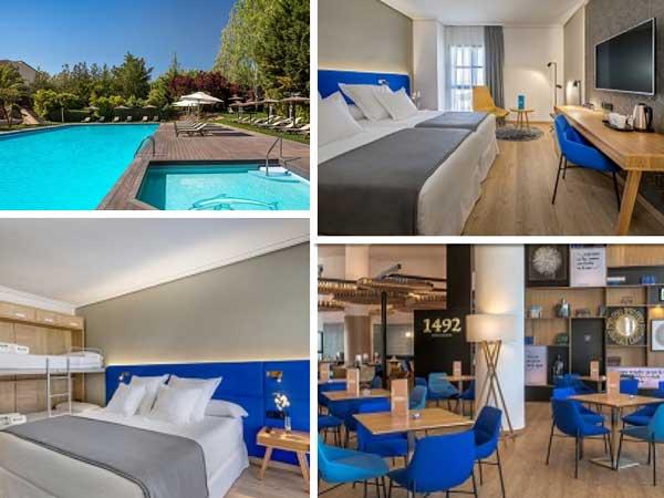 Las nuevas instalaciones del hotel Barceló Cáceres V Centenario