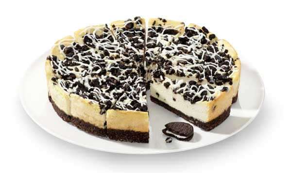 La tarta de queso Cookies & Cream Cheesecake Supreme, de Erlenbacher