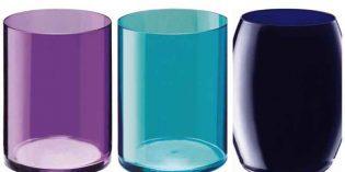 Color en los vasos, copas de cóctel, copas de vino con marcas de medida: lo nuevo de Giona Premium Glass