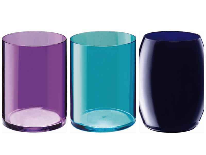 Vasos de colores Giona