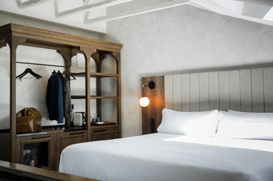 Una de las habitaciones del hotel Icon Wipton,