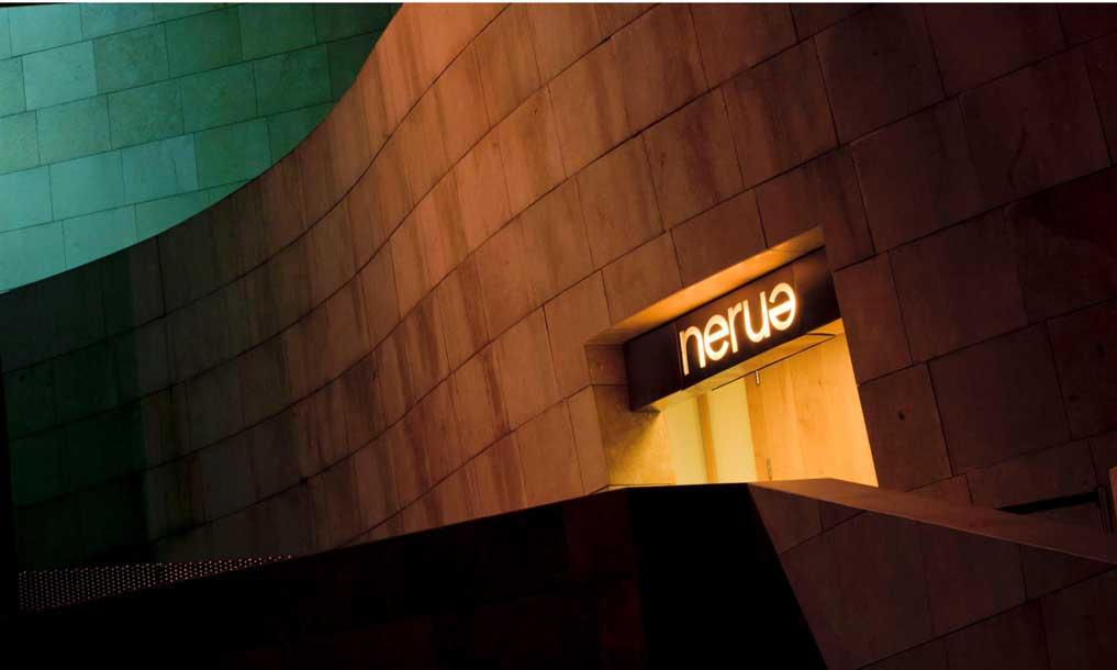 Fachada del restaurante Nerua