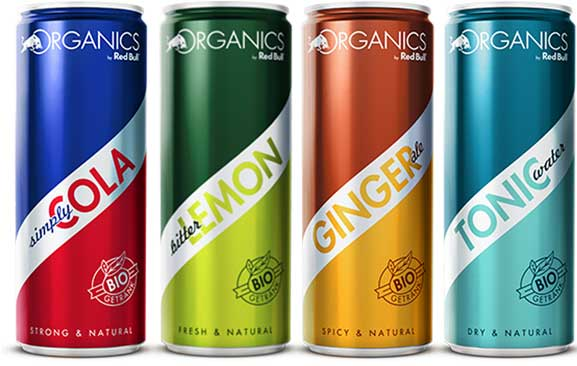 Refrescos Organics de Red Bull