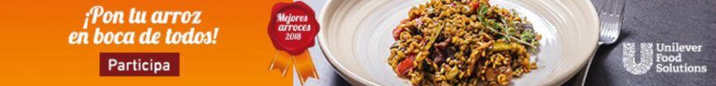 Banner del concurso Mejores Arroces de Unilever Food Solutions