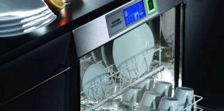 Ahorro en el lavado con el sistema de doble cesta de los lavavajillas Winterhalter