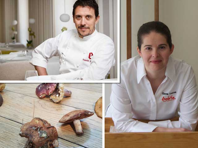 Francis Paniego y Elena Lucas - congreso Soria Gastronómica - ProfesionalHoreca