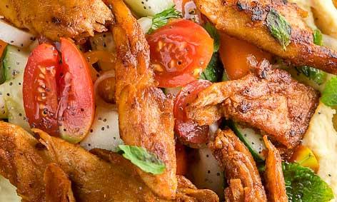 Los Bocados Mediterráneos de Heura tienen un sabor especiado