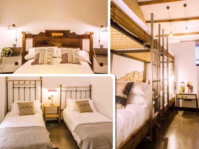 Habitaciones de LaNave Hostel
