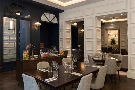 El restaurante The Captain del hotel Icon Wipton