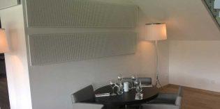 Los paneles acústicos que mejoran la acústica del restaurante… sin obras