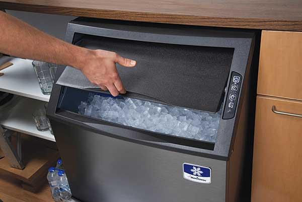 Máquina de hielo bajo mostrador de Manitowoc