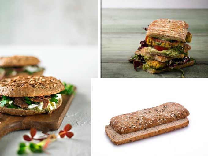 Las nuevas focaccias y panes de sándwich de Lantmannen