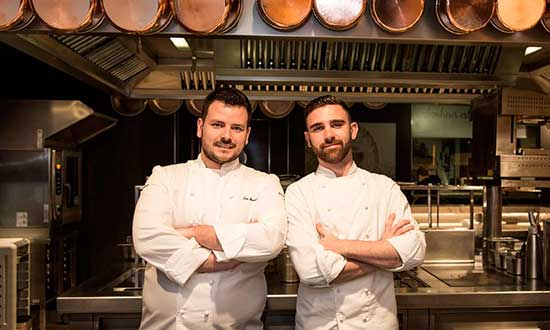 Juan Manuel Salgado y Adrià Viladomat, los representantes españoles de este año en el Bocuse d'Or
