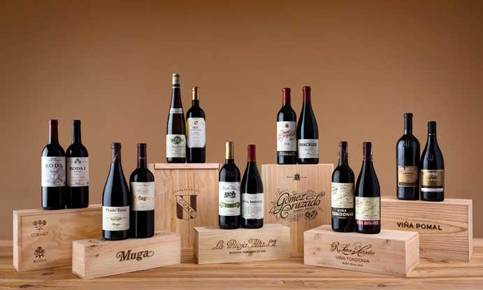 Los catorce vinos de prestigio internacional que servirán las siete bodegas del Barrio de la Estación