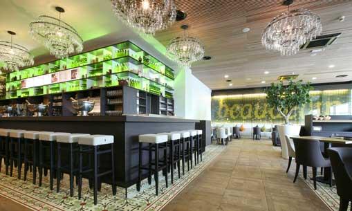 bar Beaudevin de Autogrill en el aeropuerto de Palma