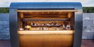 La espectacular cocktail station del hotel Akelarre de Pedro Subijana
