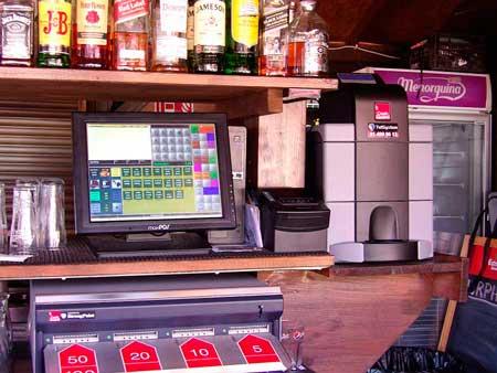 Sistema Cashguard en el Murphy's Irish Pub,del grupo hostelero Sunrise