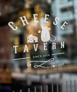 Logo de la Poncelet Cheese Tavern