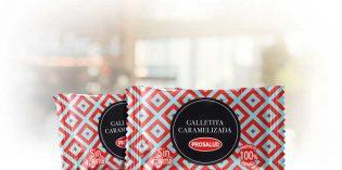 Galleta caramelizada de cortesía Prosalud